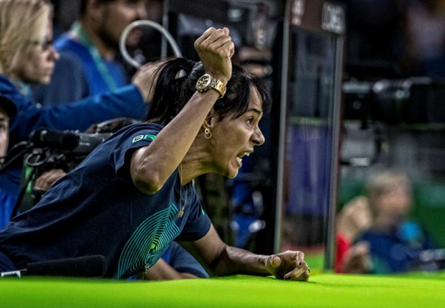 #TimeFlamengo: Treinada por Rosicleia Campos, Rafaela Silva vai à semifinal